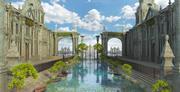 Fantasy Place 3d model