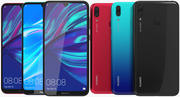 Huawei Y7 2019 All Colors 3d model