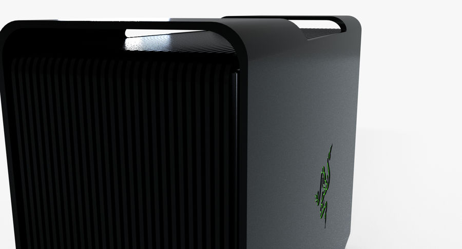 Razer Core V2 royalty-free 3d model - Preview no. 4