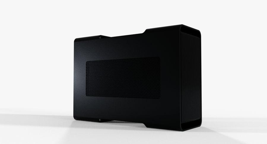 Razer Core V2 royalty-free 3d model - Preview no. 3