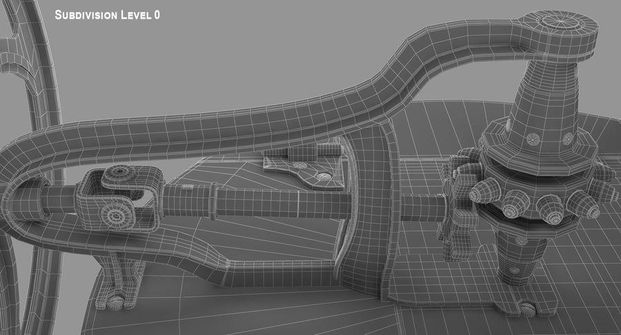 고대 세탁기 royalty-free 3d model - Preview no. 15