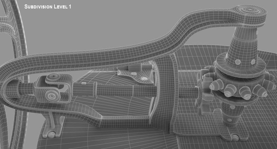 고대 세탁기 royalty-free 3d model - Preview no. 16
