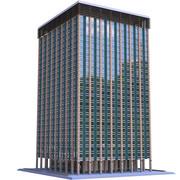Moderno condominio 11 3d model