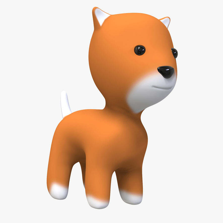 Cartoon Animal royalty-free 3d model - Preview no. 1