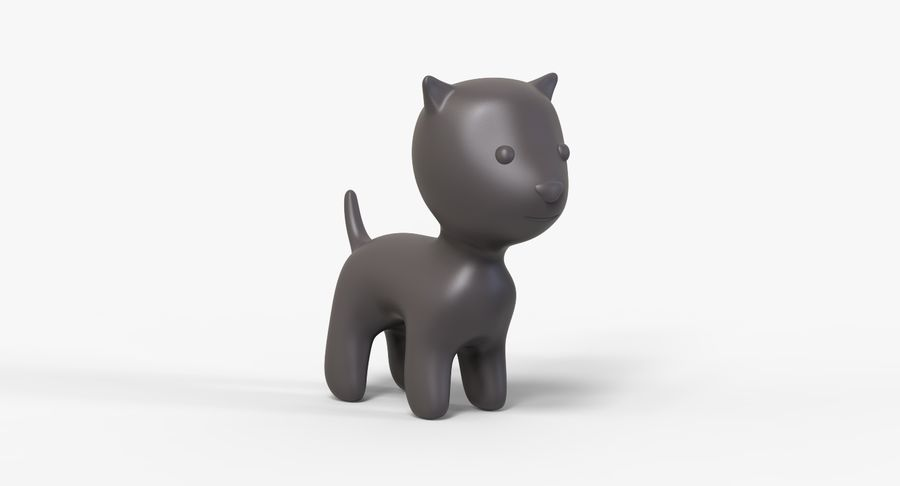 Cartoon Animal royalty-free 3d model - Preview no. 10