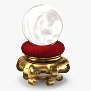Magic Ball on Velvet 3d model