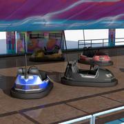 Autos tamponneuses 3d model