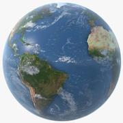 Planète Terre Artistique 3d model