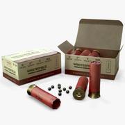 12 Gauge Shotgun Ammunition 3d model