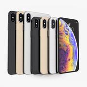 Apple iPhone Xs e Xs Max Todas as cores 3d model