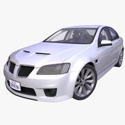 Generisk amerikansk sedan 3d model