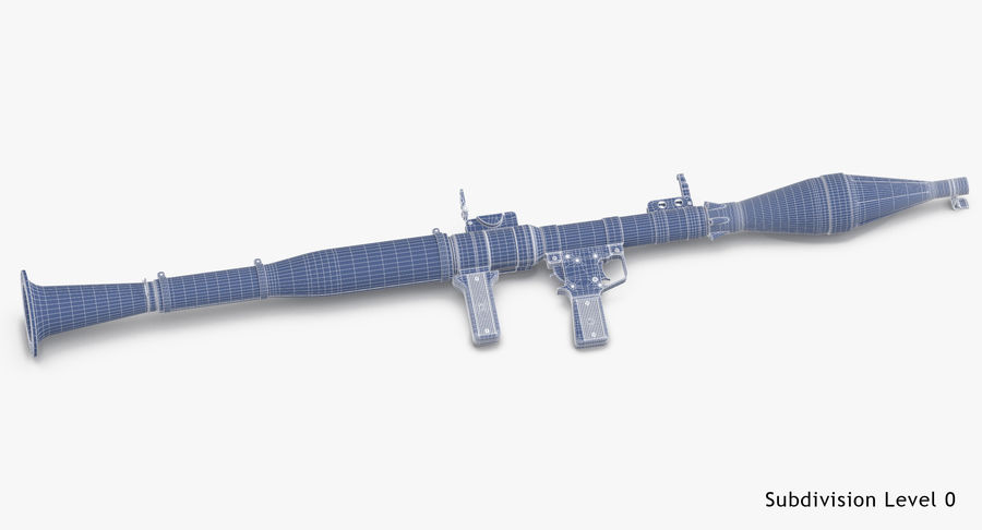 RPG - 7 royalty-free 3d model - Preview no. 21