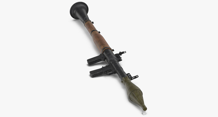 RPG - 7 royalty-free 3d model - Preview no. 8