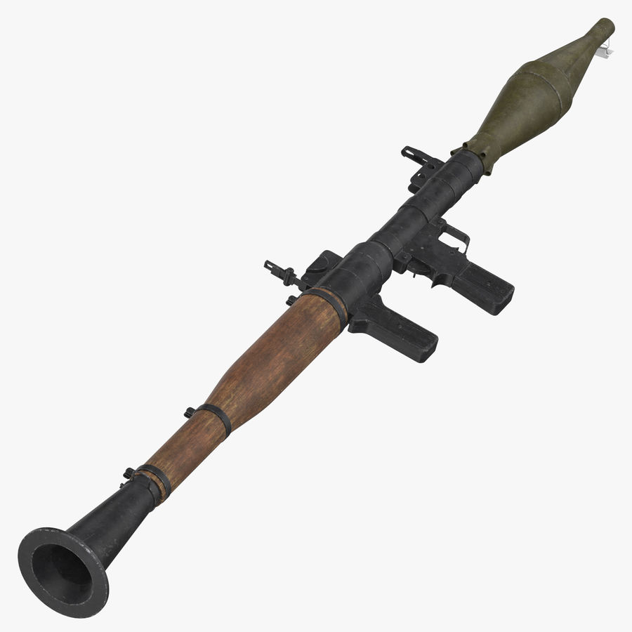 RPG - 7 royalty-free 3d model - Preview no. 1