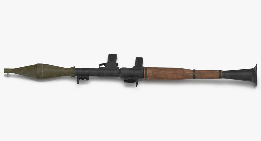 RPG - 7 royalty-free 3d model - Preview no. 4