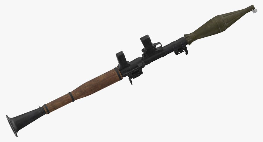 RPG - 7 royalty-free 3d model - Preview no. 9