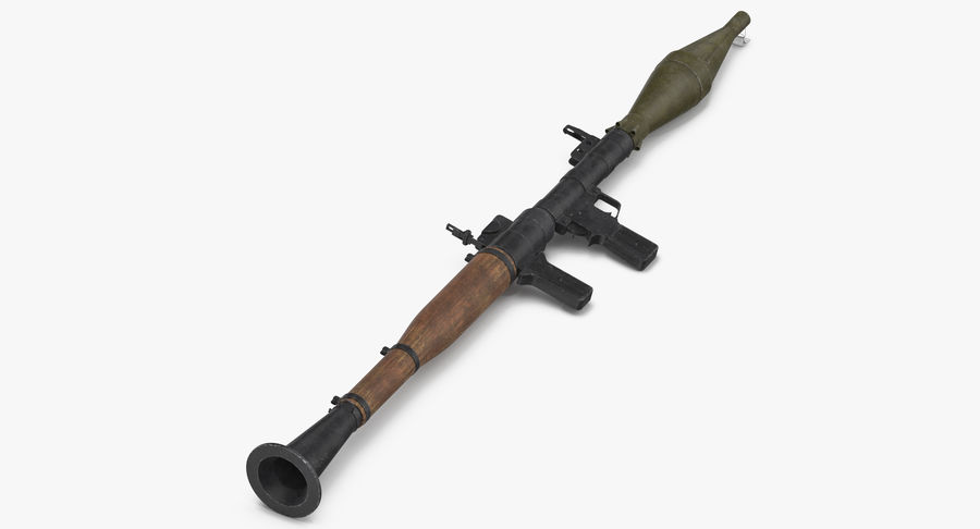 RPG - 7 royalty-free 3d model - Preview no. 3