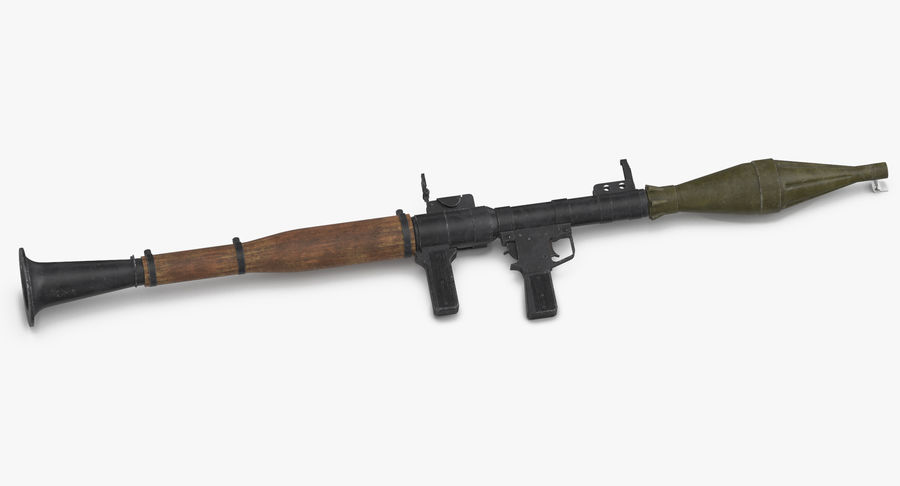 RPG - 7 royalty-free 3d model - Preview no. 6