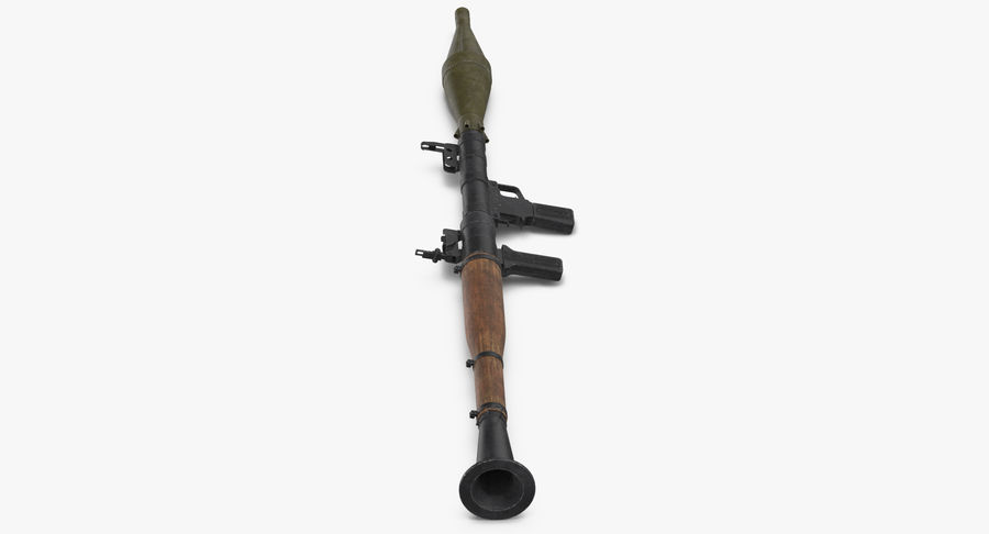 RPG - 7 royalty-free 3d model - Preview no. 7