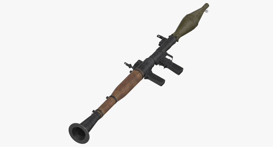 RPG - 7 royalty-free 3d model - Preview no. 2
