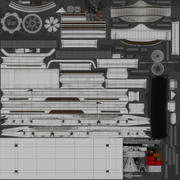 汽车拖车 3d model