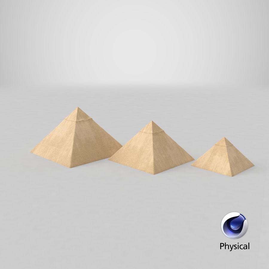 埃及大金字塔 royalty-free 3d model - Preview no. 15