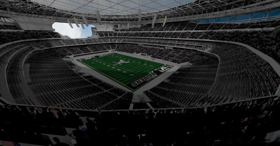 LV Stadium royalty-free 3d model - Preview no. 2