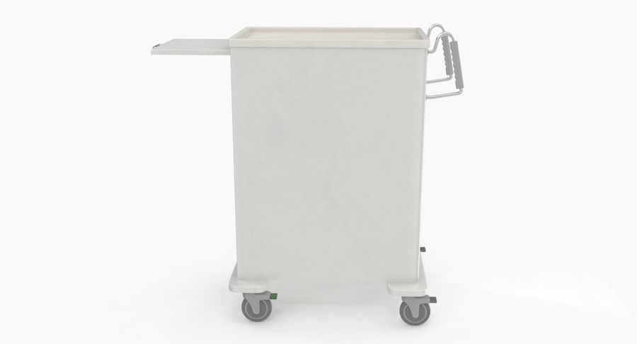 Pediatric Medical Cart royalty-free 3d model - Preview no. 13