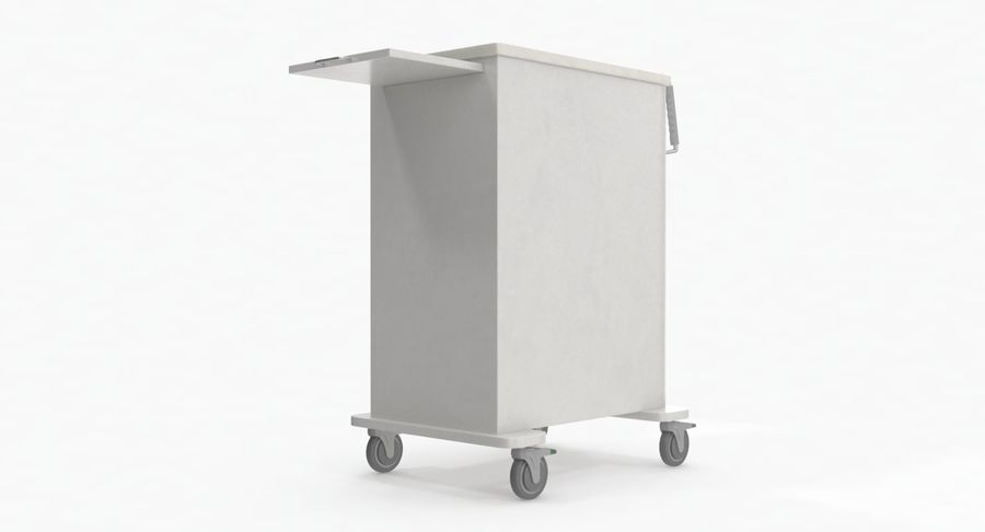 Pediatric Medical Cart royalty-free 3d model - Preview no. 14