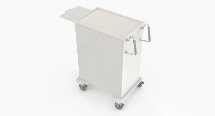Pediatric Medical Cart royalty-free 3d model - Preview no. 12