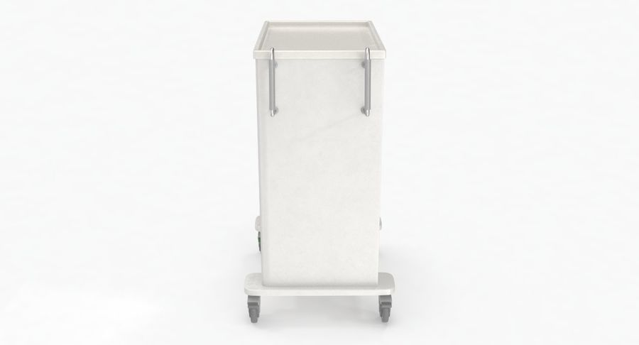 Pediatric Medical Cart royalty-free 3d model - Preview no. 11
