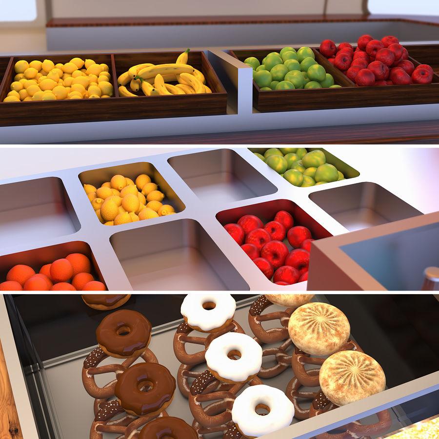 Коллекция Food Trucks royalty-free 3d model - Preview no. 5