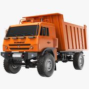 쓰레기 트럭 3d model