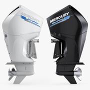 Mercury 300 CMS Outboard Motor 3d model