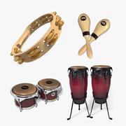 Mini Percussion Set 1 modelo 3d