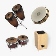 Mini set de percusión 2 modelo 3d