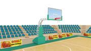 Open Basketball Court 3d model