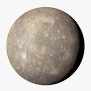 Mercúrio 8k 3d model