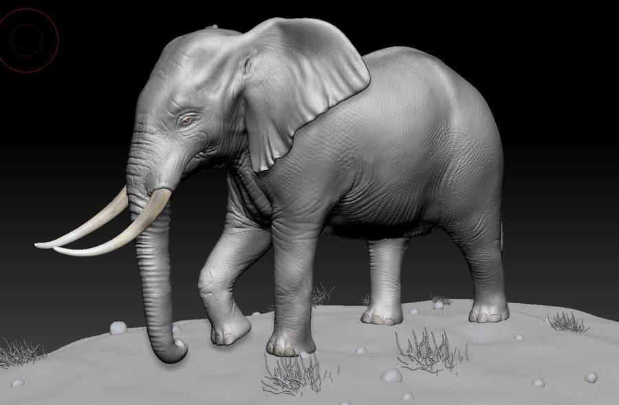 animales royalty-free modelo 3d - Preview no. 2
