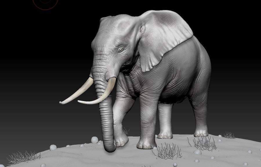 animales royalty-free modelo 3d - Preview no. 1