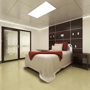 병실 및 간호 사실 3d model