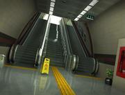 Метро Эскалатор 3d model