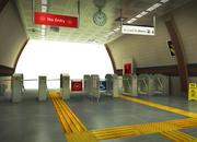 Tunnelbana Tourniquet (1) 3d model