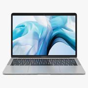 Apple MacBook Air银色13英寸2018年 3d model