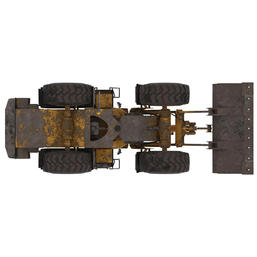 Front End Loader royalty-free 3d model - Preview no. 9