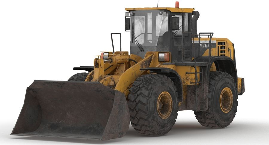 Front End Loader royalty-free 3d model - Preview no. 13