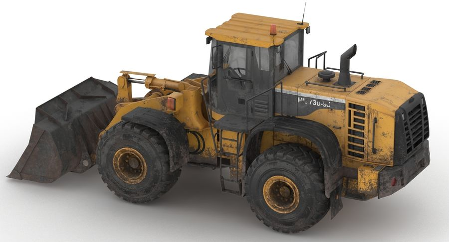 Front End Loader royalty-free 3d model - Preview no. 11