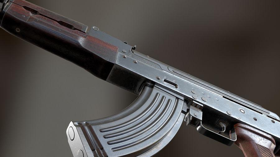 AKM royalty-free 3d model - Preview no. 6