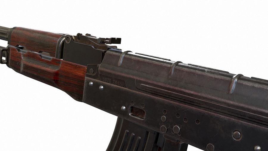 AKM royalty-free 3d model - Preview no. 4