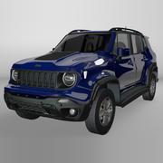 Jeep Renegade Trailhawk 2019 L069 3d model